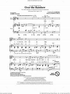 arlen over the rainbow sheet music for choir 2 part pdf