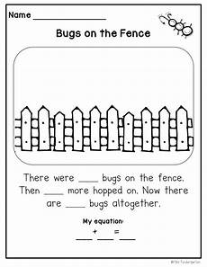 math word problems springy stories miss kindergarten