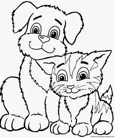 hunde katzen malvorlagen coloring and malvorlagan
