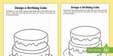 birthday cake worksheet 20213 free new all about me writing frame