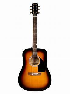 Fender Fa 100 Acoustic Guitar Sunburst W Ebay