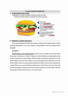 writing topic sentences worksheets 22237 writing a topic sentence worksheet free esl printable worksheets made by teachers