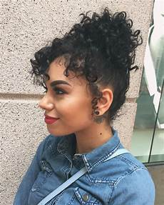 curly updo curly hair 3a 3b hair instagram the