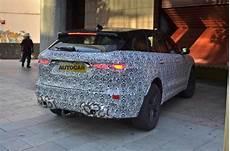 jaguar f pace facelift 2020 new jaguar f pace facelift seen testing ahead of 2020