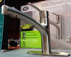 water ridge kitchen faucets costco sale water ridge style pull out kitchen faucet 59 99 frugal hotspot