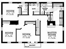 4 bdrm house plans 4 bedroom house floor plans free home deco building