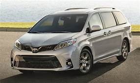 2020 Toyota Sienna Hybrid USA Colors Release Date