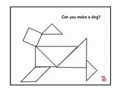 Tangram Kinder Malvorlagen Word Learning Printables For