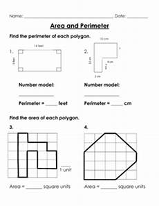 area and perimeter workshee by brooke beverly teachers pay teachers