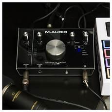 M Audio M Track 2x2m Audio Interface At Gear4music