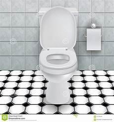 Cuvette Des Toilettes Illustration De Vecteur
