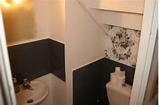 décorer ses toilettes diy 1 d 233 corer les murs de ses toilettes suite et fin