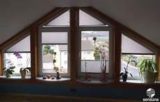 rollo für dreiecksfenster auch das ist individuell realisierbar sonderformen