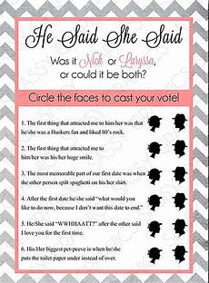 Special Wednesday Top 5 Free Printable Bridal Shower Games