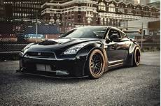 Liberty Walk Nissan Gtr In Vancouver