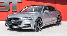 new audi a8 diesel gets muscled up by abt carscoops