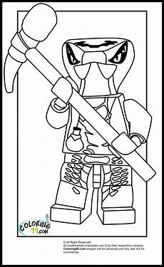 Ausmalbilder Lego Ninjago Goldener Lego Ninjago Venomari Coloring Pages Team Colors
