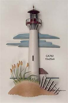 cape may nj lighthouse metal wall art ca762