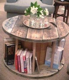 table basse bobine bois transformer un touret en table basse vid 233 o bricolage et