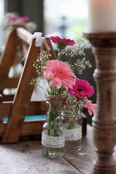 Tischdeko Mit Blumen - tischdeko deko blumen hochzeit