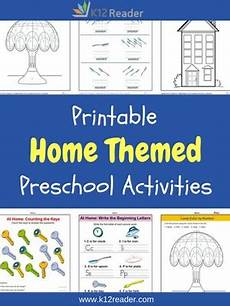 at home preschool theme activities printable classroom lessons