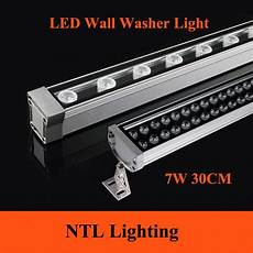 new 0 3m 7w led wall washer landscape light ac 85v 265v 12v 24v outdoor lights wall linear l