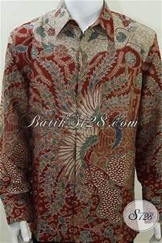 baju batik sutera lelaki modern ready made siap pakai mewah elegan exclusive kualitas bagus