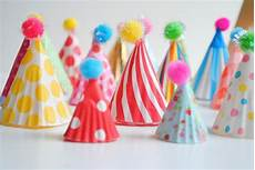 diy hat cupcake toppers