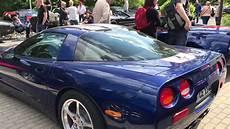 Corvette Treffen Suhl 2018 V8 Sound Cabrio Sportwagen