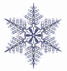 Snowflake On White Background designer snowflakes snowcrystals