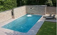 pool aus edelstahl edelstahl pool mit skimmertechnik und integrierter