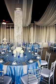 Silver And Blue Decorations by Wedding With Blue Silver Ivory Wedding