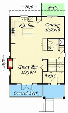 uphill slope house plans plan 85091ms for an uphill skinny lot architecture