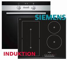 induktion herd set autark herd siemens backofen