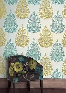 tapeten mit muster 85 wohnzimmer tapeten ideen florale und barock muster