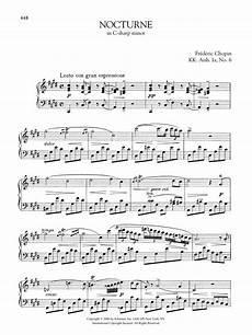 nocturne in c sharp minor kk anh ia no 6 sheet music fr 233 d 233 ric chopin piano solo