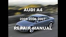 service manuals schematics 2007 audi a6 electronic throttle control audi a4 2005 2006 2007 repair manual youtube