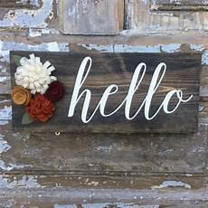 hello home decor items similar to hello wood sign home decor hello sign on etsy