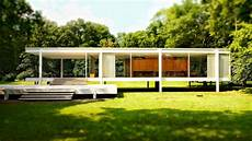 the farnsworth house by ludwig mies der rohe plano