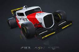 This Crazy Concept Is A Mash Up Of 90s F1 Car And