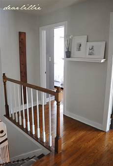 dear lillie progress in the upstairs hallway