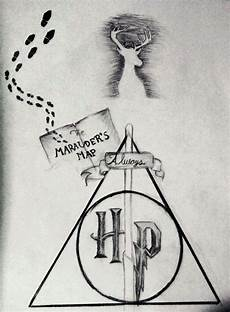 simbolos para dibujar faciles dibujo potterhead harry potter espa 241 ol amino