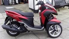 yamaha 125 tricity 3 wheel scooter moped trike bike in