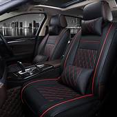 Universal PU Leather Car Seat Cover For HUMMER H2 H3