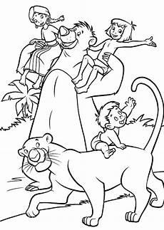 ausmalbild dschungelbuch kinder ausmalbilder