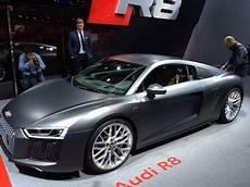 Deux Minutes 224 Bord De La Nouvelle Audi R8 2015 L Argus