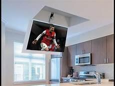 tv soffitto sollevatore tv a soffitto flip 100 staffa tv