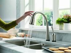 delta touch kitchen faucet delta touch faucet