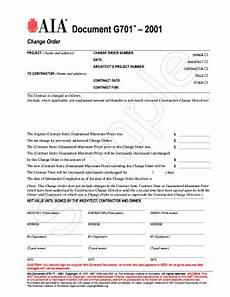 aia change order request form fill online printable
