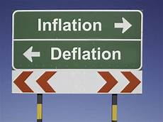 inflation und deflation what is the difference between inflation deflation and